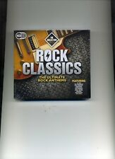 ROCK CLASSICS - THE COLLECTION - ZZ TOP FOREIGNER HOLLIES FACES - 4 CDS - NEW!!