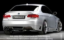 Rieger Heckansatz für Doppelendrohr links für BMW 3er E92/ E93 Coupe/ Cabrio