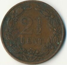 COIN / THE NETHERLANDS / 2 1/2 CENT 1880  #WT8022