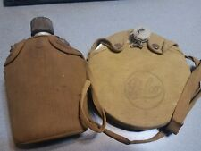 Lot of 2 Vintage Canteen Japan Palco Army Military Boy Scouts