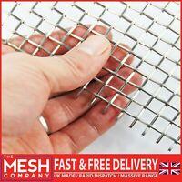 Heavy Duty (3LPI x 1.6mm Wire = 6.87mm Hole) SS304 Grade Woven Wire Mesh