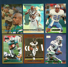 2009 TOPPS DOLPHINS RICKY WILLIAMS GOLD PARALLEL CARD #38 (#600/2009)