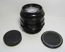 Jupiter-9 2/85mm LZOS BLACK lens with M42 SLR Zenit screw mount EXC. #8102969