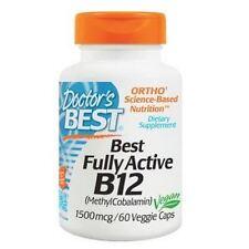 Vitamin B-12, Methylcobalamin, 1500mcg x 60 Kapseln, Doctors Best, 24 Stunden