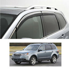 FIT FOR 08-12 SUBARU FORESTER SH WEATHER SHIELD WEATHERSHIELD RAIN DEFLECTORS
