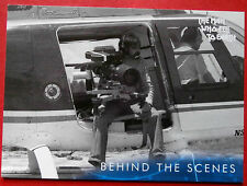 DAVID BOWIE - The Man Who Fell To Earth - Card #52 - Behind The Scenes