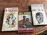 JACK KEROUAC  VINTAGE PAPERBACKS  GOOD - FAIR CONDITION  UNABRIDGED