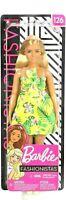 Barbie Fashionistas Doll #126 Long Blonde Hair, Tropical Dress,.. for OOAK Doll!