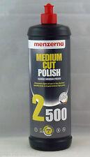 MENZERNA MEDIUM CUT POLISH 2500 POLISH QUART FORMERLY POWER FINISH SAME PRODUCT