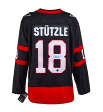 Tim Stutzle Ottawa Senators Autografiado fanáticos ® NHL Hockey Jersey Replica