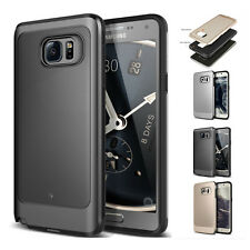 For Samsung Galaxy S6 S7 S8 Plus Luxury Hybrid Armor Shockproof Phone Case Cover