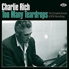 Charlie Rich - Too Many Teardrops [New CD]
