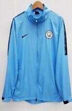 Manchester City Nike Lightweight Full Zip Mens Raincoat Jacket Size Large