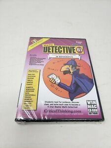 Critical Thinking Company Math Detective B1 Software CD Rom Grades 7-8 WIN/MAC