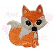 niedlicher Fuchs Applikation Aufnäher zum aufbügeln stickapplikation orange