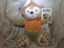 "DISNEY MERCHANDISE HALLOWEEN BEAR MICKEY'S NEW FRIEND ""DUFFY"" 12 INCH W/ALL TAGS"