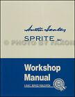 Austin Healey Sprite Shop Manuell Froschauge Bugeye 1958 1959 1960 1961 Buch