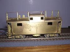 Brass Alpha Models Pennsylvania N-5b Caboose w/Antenna Unpainted