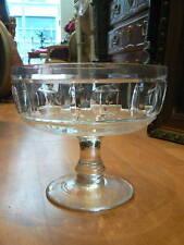 ancienne grande coupe en cristal de sevres taille