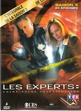 LES EXPERTS LAS VEGAS-  Integrale Saison 3 -  Coffret Double Digipack 6 dvd
