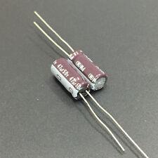 50pcs 47uF 50V47UF 6.3x15mm Nichicon PM Super Low Impedance Capacitor