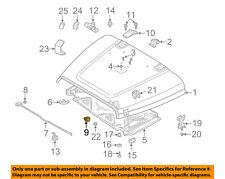 Jeep CHRYSLER OEM Wrangler Hood-Support Prop Rod Holder Clip Clamp 55075480AC