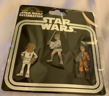 Star Wars Celebration Chicago 2019 Rebellion Pin Collection 3 Pack (IN HAND) NEW