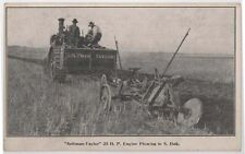 Early Aultman Taylor Tractor trade card Minneapolis MN