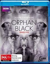 Orphan Black : Series 5 (Blu-ray, 2017, 3-Disc Set)
