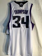 Adidas Swingman NBA Jersey Sacramento Kings Jason Thompson White sz L 1b633bffd