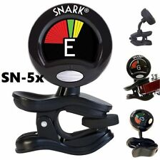 SNARK Sn5X CLIP ON CHROMATIC ACOUSTIC ELECTRIC GUITAR BASS UKULELE BANJO TUNER