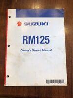 Suzuki Service Manual Repair RM125 2007 Model Motorcycle