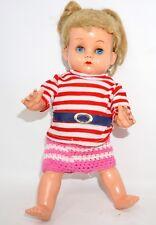 Puppe Zelluloidpuppe Celluloidpuppe Zelluloid 25cm defekt ALT Klappaugen