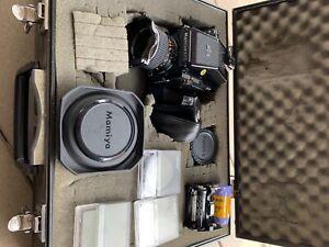 Mamiya 645 1000S Camera, Lens, Bundle