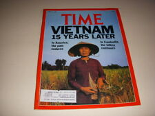 TIME Magazine, April 30, 1990, VIETNAM 15 YEARS LATER, GRETA GARBO, ALDO ROSSI!