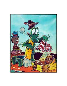 Pogo Possum & Albert Walt Kelly Golden Age style comic strip Dell Sericel