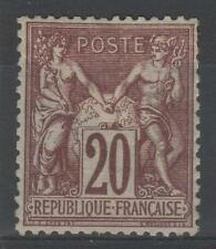 """FRANCE STAMP TIMBRE N° 67 d """" TYPE SAGE 20c BRUN LILAS FONCE """" NEUF x TB  N874"""
