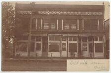 1907 Marion, South Dakota REAL PHOTO Jewish Medical Surgeon Office, Old Postcard