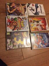 Nintendo Wii  - Disney Games 6 Game Bundle   -   6 Kids Disney  Games