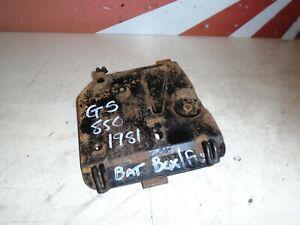 Suzuki GS850G Battery Box Cover GS Fuse Box Cover