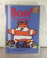 Boo! - Faraway Places : Vol 1 (DVD, 2004) RARE OOP Region 4 Aust/Nz