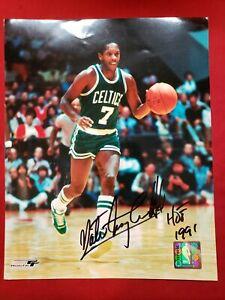 Boston Celtics Nate Tiny Archibald autographed 8x10 picture