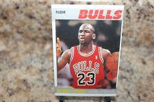1987 fleer michael jordan chicago bulls reprint card# 59of 132