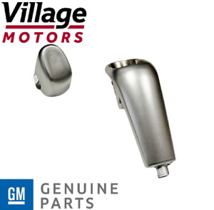 NEW Genuine GM Holden VY VZ Auto Gearshift Satin Chrome Bezel & Button 92145639