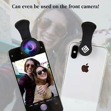 Camera Lens Kit - 3in1 Fisheye Lens, Wide Angle Lens & Clip On Cell Phone