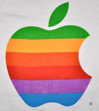 Vintage 80s 1980s APPLE COMPUTERS Macintosh Mac T SHIRT Screen Stars DEADSTOCK M