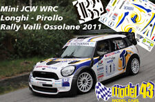 DECAL  1/43 - MINI WRC - BASSO   - Rally Valle Ossolane   2011