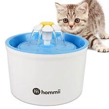 Hommii Fontaine À Fleur pour Chat Automatic Electric Flower 1.6 L Pet Water FO