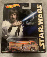 2017 Hot Wheels Star Wars Luke Skywalker Volkswagen Drag Truck!!