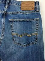 American Eagle Core Flex Relaxed Straight Blue Jeans Men's 28x30 Actual 28x29